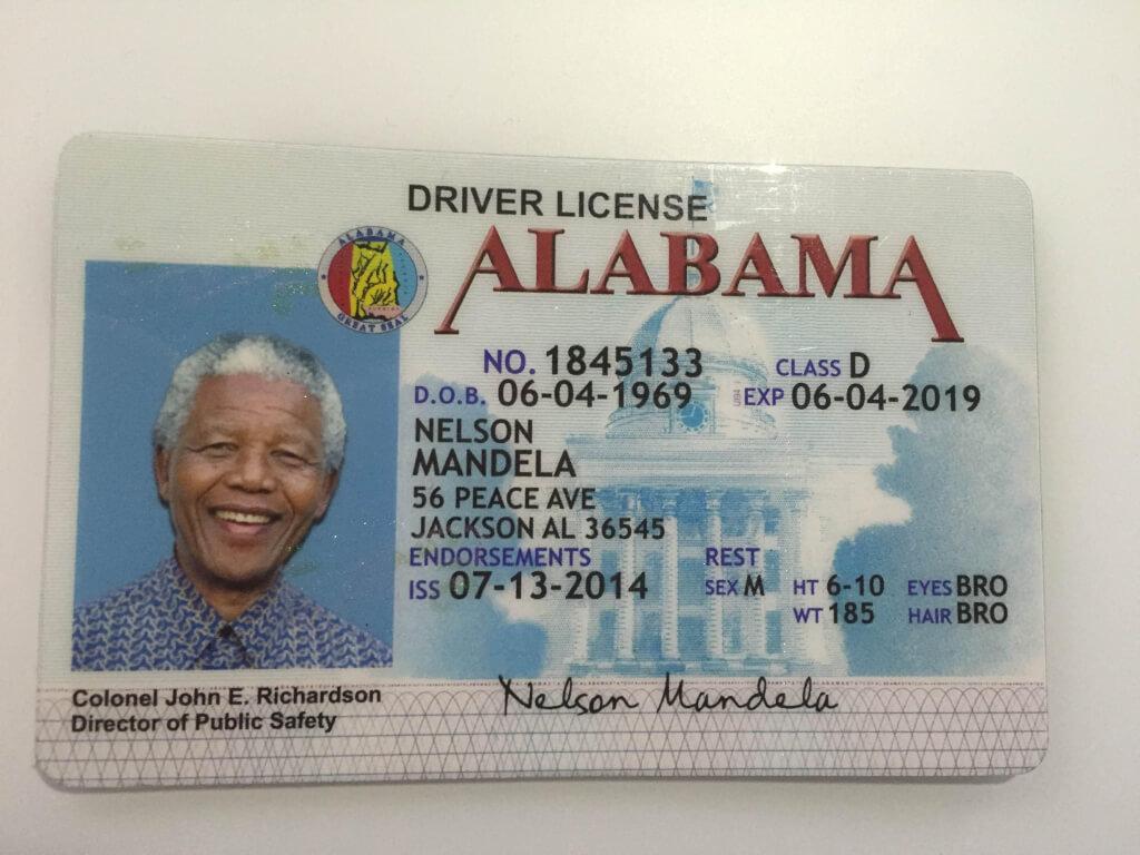 Alabama ID | Fast Fake ID Service | Buy Fake ID